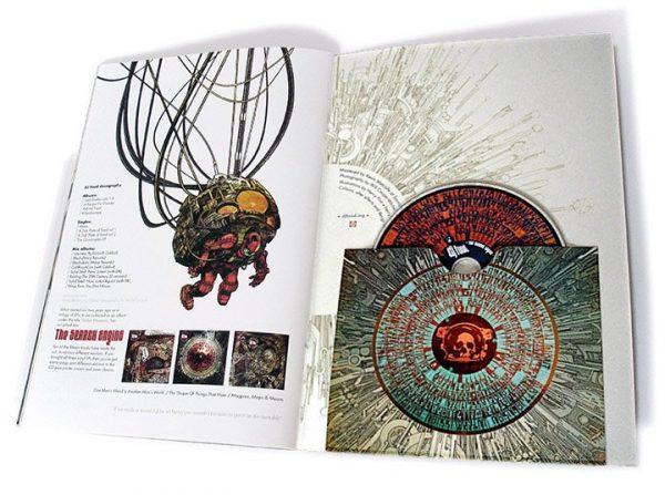 DJ Food - The Search Engine Ltd comic book CD inside