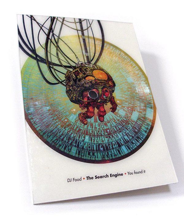 "DJ Food - In Orbit Every Monday 5"" audio postcard"