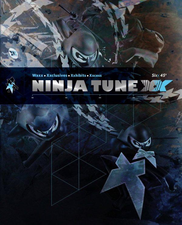 "Ninja Tune XX box set 7"" folder front"