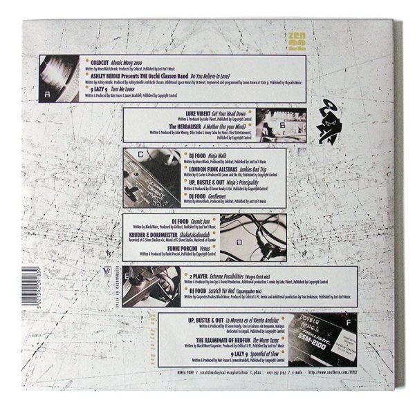 Various - Ninja Cuts: Flexistentialism LP back