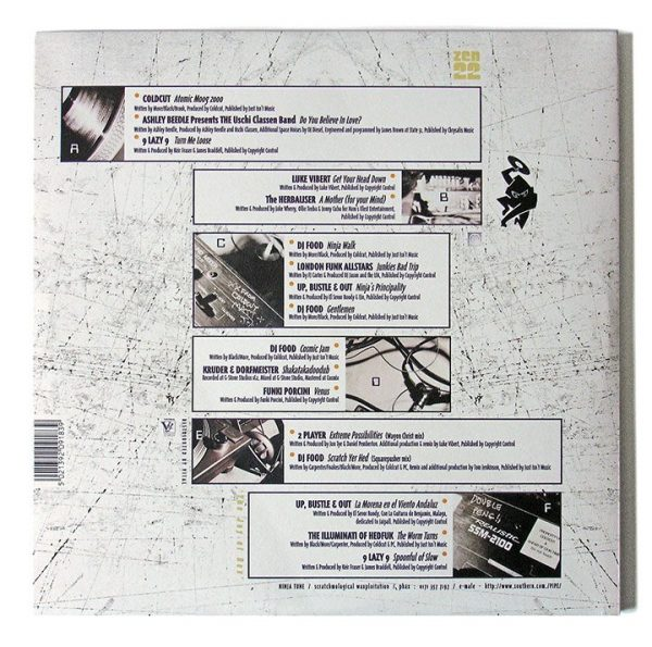 Various - Ninja Cuts: Flexistentialism LP back