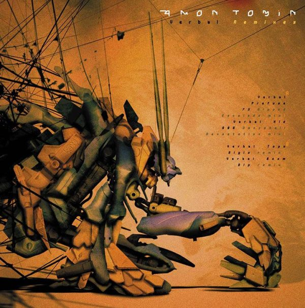 "Amon Tobin - Remixes 12"" front UK version (Ninja Tune) 2002"