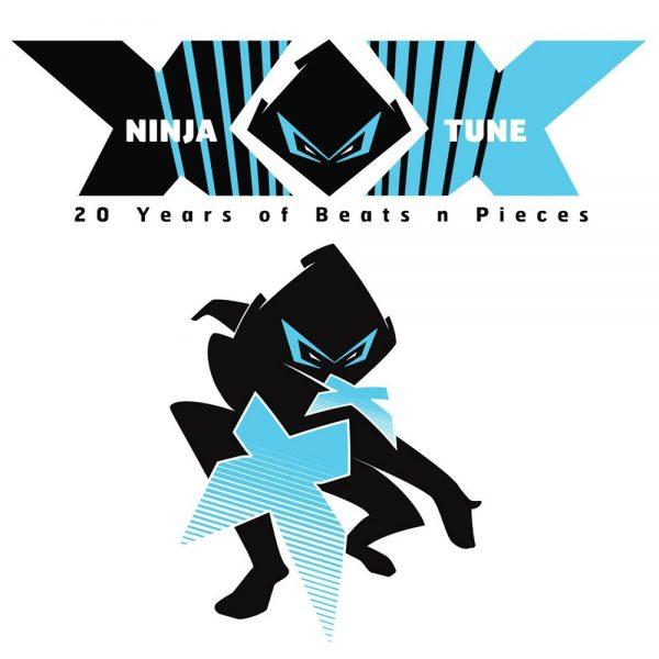 Ninja Tune XX (20 yrs) logos, 2010