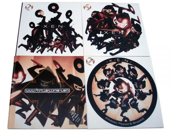 Various - Xen Cuts CD poshettes + booklet
