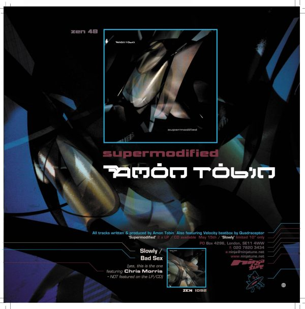 Amon Tobin - Supermodified LP French advertisment