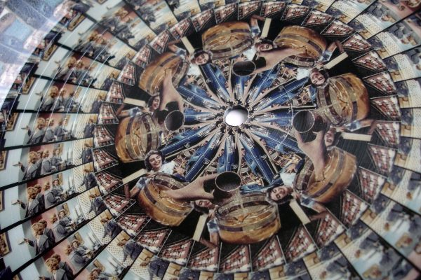 "Bonobo - Cirrus 12"" picture disc side A detail (Ninja Tune) 2013"