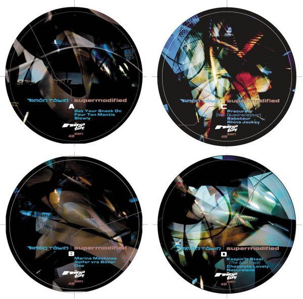Amon Tobin - Supermodified LP labels