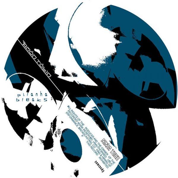Amon Tobin - Piranha Breaks EP CDS disc